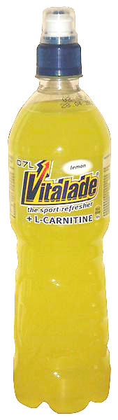 Vitalade lemon flavoured  sport drink, 1 pack = 12 bottles, 0,7 l each