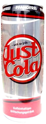 Just Cola 0.33 l can