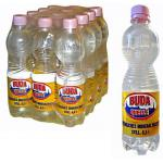 BudaQuelle non-carbonated mineral water in 0,5 l PET bottles, 1 euro pallet