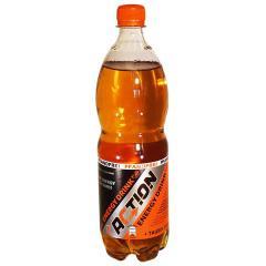 Action energy drink 1 l PET bottle